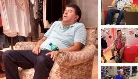 Мужчины, которых жены взяли с собой на шопинг