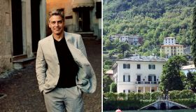 Дом Джорджа Клуни на озере Комо