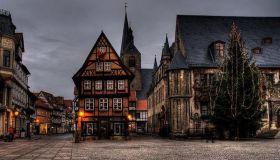 Красивые старинные дома, архитектура Германии