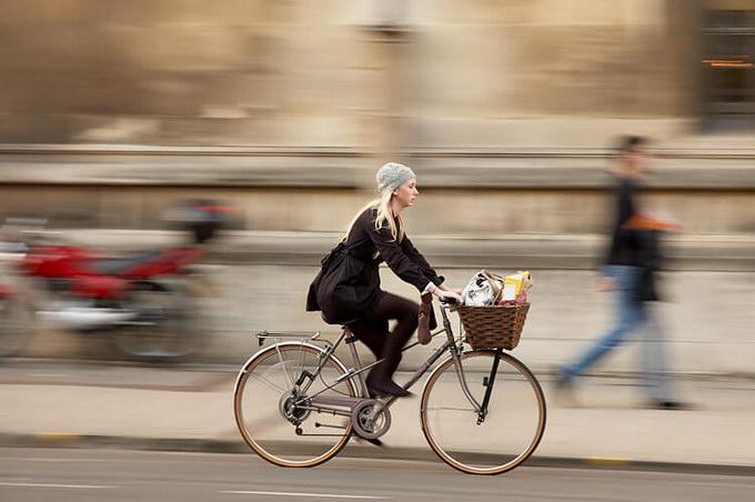 Велосипед в Чехии