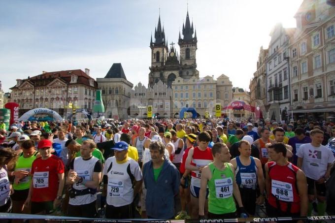 Прага вновь оживет марафоном