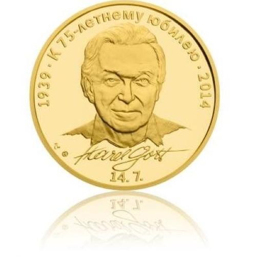 Медаль в честь 75-летия Карла Готта