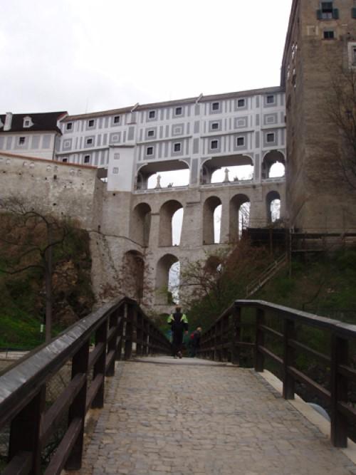 most zamka casky-krumlov