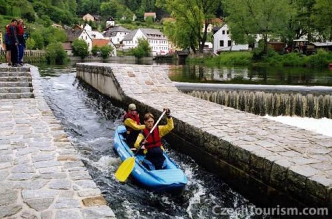 Реки Чехии для сплава и отдыха