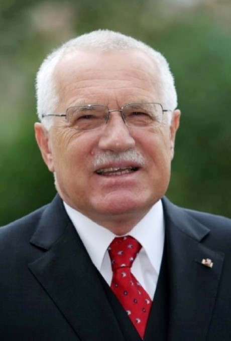 Vaclav Klaus headshot